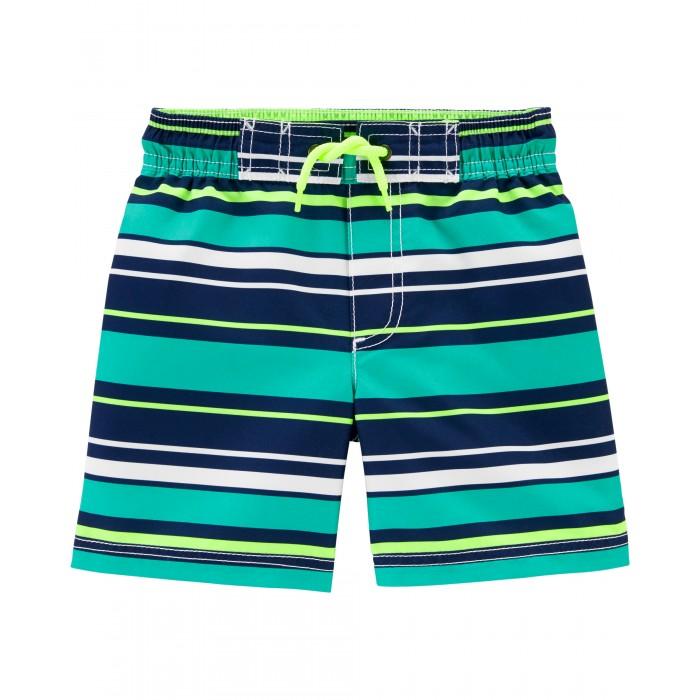 Плавки Carters Шорты купальные для мальчика 2H437310 шорты купальные для мальчика luminoso цвет сине бирюзовый 717065 размер 134