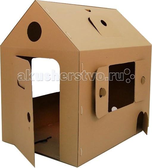 Игровые домики CartonHouse Игровой домик Картонный Мой первый дом домики для животных esschert design домик для птиц nkvv