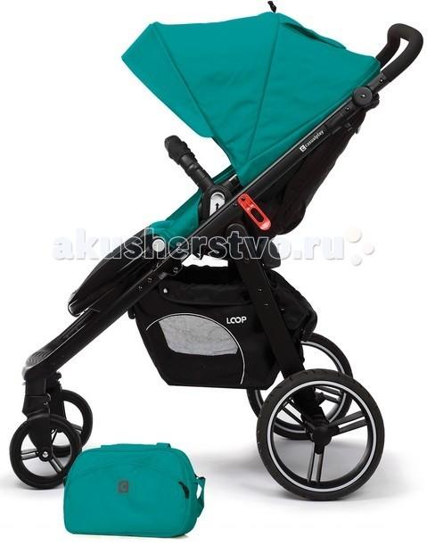 Прогулочная коляска Casualplay Loop 4-колеснаяLoop 4-колеснаяПрогулочная коляска Casualplay Loop, созданная для уверенных в себе родителей и их требовательных малышей. Супербольшие задние колеса и маленькие передние из PU-резины обеспечат невероятную плавность езды на любых дорогах.  Просторное сиденье с трехпозиционным наклоном спинки, объемный капюшон, защитный бампер и пятиточечные ремни создадут малышу небывалый уровень комфорта и безопасности на прогулке. Ручка коляски легко подстраивается под рост родителей, а вместительная корзина имеет легкий доступ. Шасси суперкомпактно складывается легким движением по типу «книжки» - очень практично и удобно.  Прогулочная коляска Loop предназначена для детей от 6 месяцев до 3 лет (вес до 20 кг, рост до 120 см).  Особенности прогулочной коляски Loop:  Надежная рама из алюминия. Широкое и просторное сиденье. 5-ти точечные ремни безопасности с мягкими накладками. Прогулочный блок может быть установлен по ходу движения или лицом к маме. Регулируемый угол наклона спинки сиденья (3 положения). Удобная подножка. Защитный бампер. Регулируемая эргономичной формы ручка. Ручка с прорезиненным антискользящим покрытием. Колеса сделаны из PU резины и более долговечны, чем обычные пластиковые колеса и намного лучше катятся даже по неровной поверхности. Передние колеса меньшего диаметра, чем задние. Ножной тормоз. Материал обивки выполнен из высококачественных, прочных, «дышащих» тканей. Тип сложения книжка, складывается одним движением. Вместительная корзина для покупок. Возможность установки на шасси люльки для новорожденного и детского автокресла группы 0+ (приобретаются отдельно).<br>