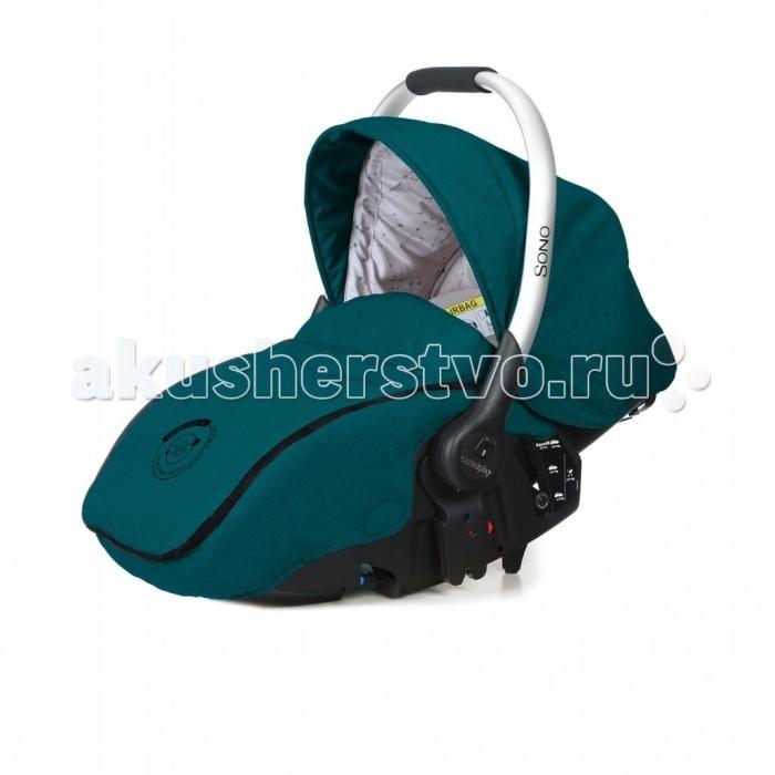 Автокресло Casualplay SonoSonoАвтокресло Casualplay Sono - предназначено для детей весовой категории до 13 кг. Кресло фиксируется штатными ремнями автомобиля, против хода движения. Данную модель автокресла можно использовать как в качестве автомобильного сиденья, так и в качестве люльки-переноски, помимо того оно устанавливается на все коляски Casualplay. Усиленная боковая защита, 3-х точечные ремни безопасности обеспечивают максимальную безопасность и защиту, а регулируемая спинка и дышащие ткани обивки придают дополнительное удобство и комфорт в момент использования данного автокресла.  Особенности: 3 положения наклона спинки  козырек от солнца  мягкий подголовник  съемные чехлы способ крепления в автомобиле штатными ремнями безопасности<br>