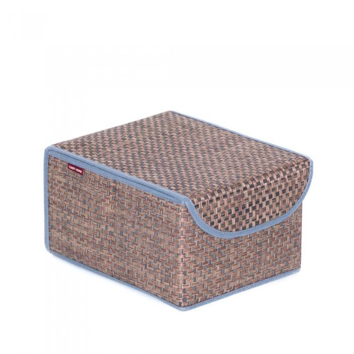 Фото - Хозяйственные товары Casy Home Коробка для хранения с крышкой 21х26х15 см товары для рыбалки