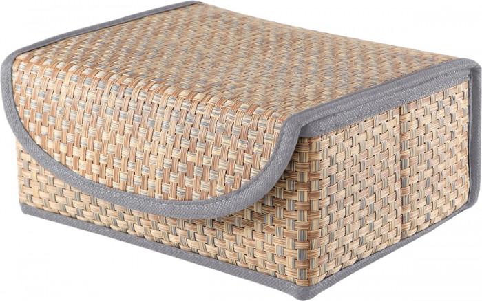 Фото - Хозяйственные товары Casy Home Коробка для хранения с крышкой 27х25х12 см товары для рыбалки