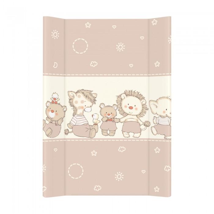 Купить Накладки для пеленания, Ceba Baby Матрас пеленальный на жестком основании без изголовья 70х50 см