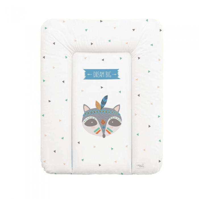 Накладки для пеленания Ceba Baby Матрас пеленальный мягкий 70x50 см