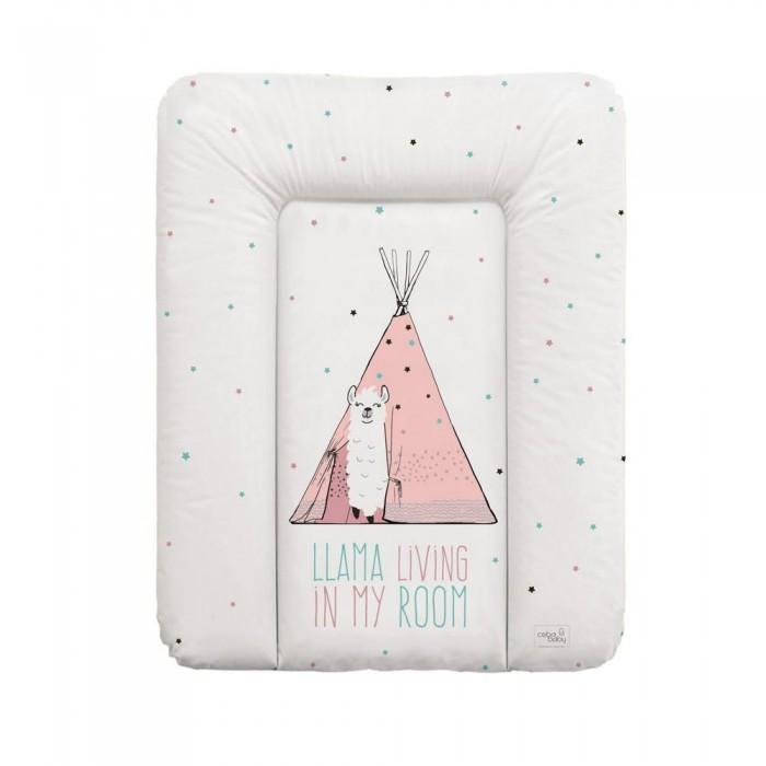 Купить Накладки для пеленания, Ceba Baby Матрас пеленальный мягкий Lolly Polly 70x50 см