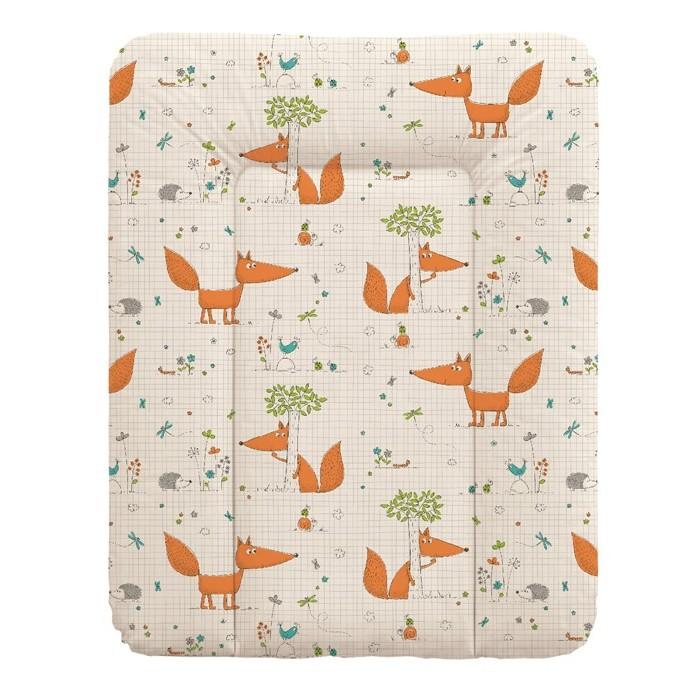 Детская мебель , Накладки для пеленания Ceba Baby Матрас пеленальный мягкий с изголовьем 50х70 см арт: 348620 -  Накладки для пеленания