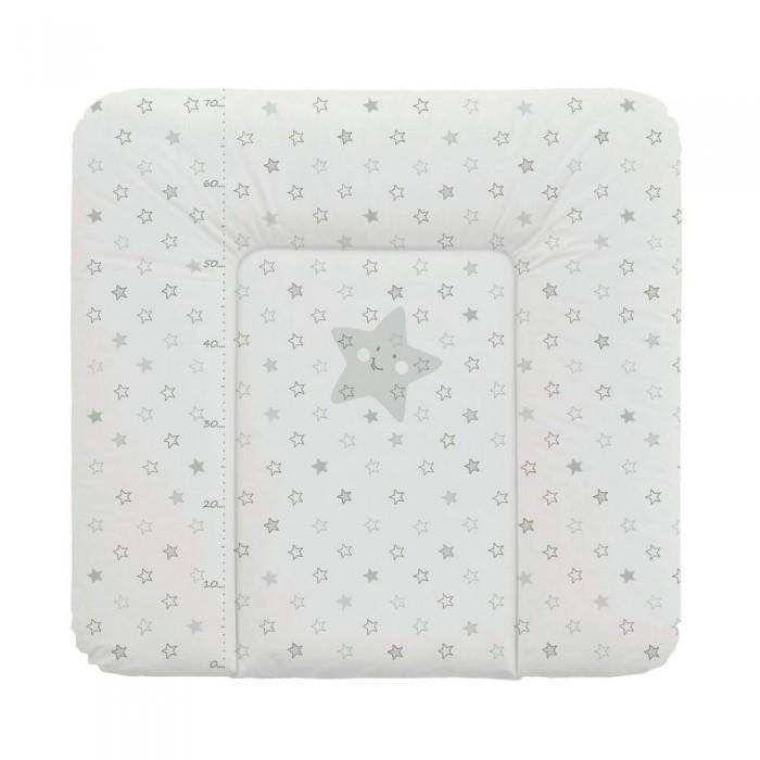 Купить Накладки для пеленания, Ceba Baby Матрас пеленальный мягкий Stars 70х75 см