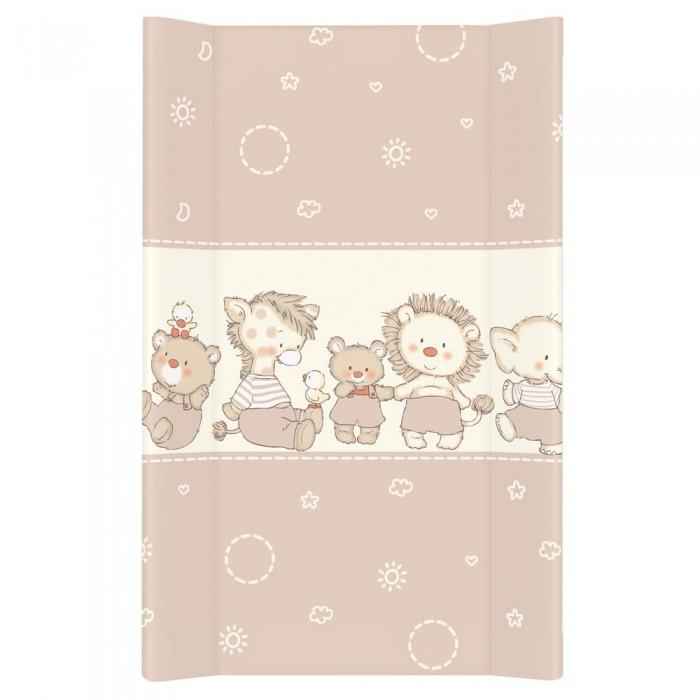 Купить Накладки для пеленания, Ceba Baby Матрас пеленальный на жестком основании без изголовья Duckling 80 см