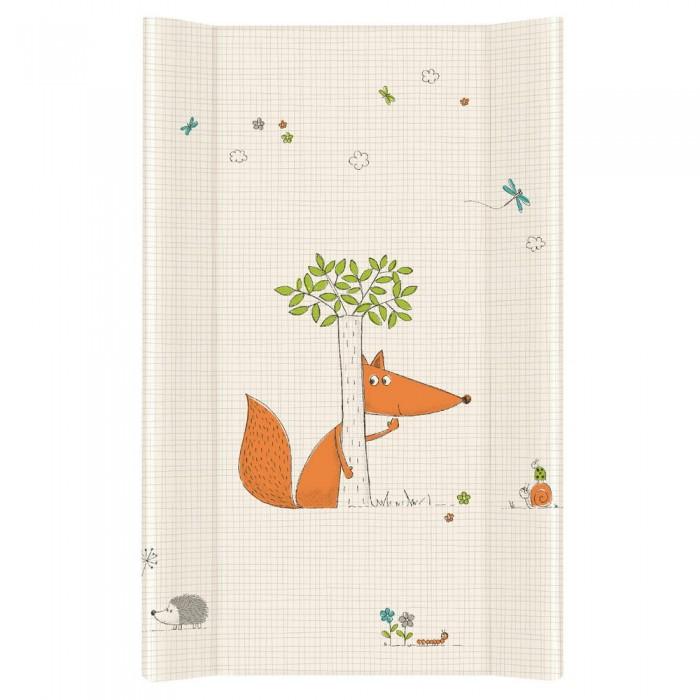 Купить Накладки для пеленания, Ceba Baby Матрас пеленальный на жестком основании без изголовья Fox 80 см