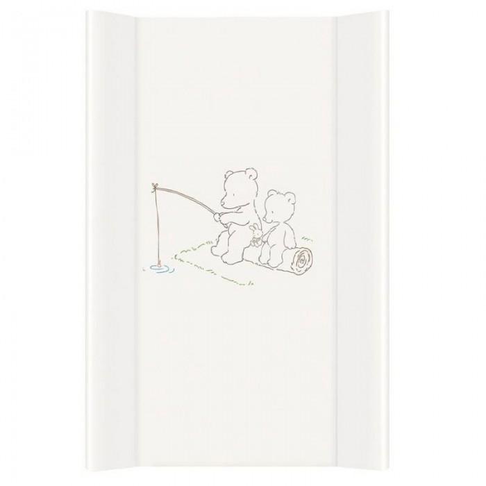 Фото - Накладки для пеленания Ceba Baby Матрас пеленальный на жестком основании без изголовья Papa Bear 80 см bear baby