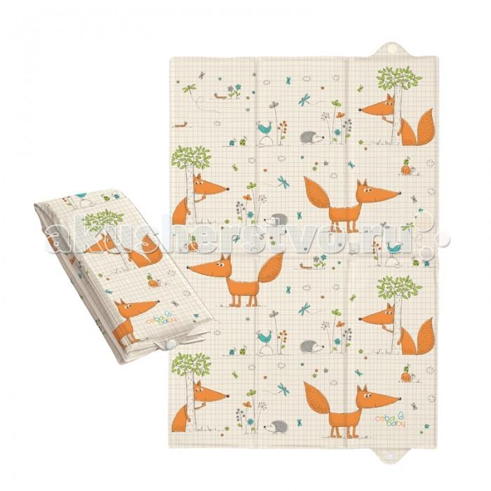 Накладки для пеленания Ceba Baby Накладка для пеленания для путешествий 40х60 накладки для пеленания candide накладка для пеленания comfort 70х50