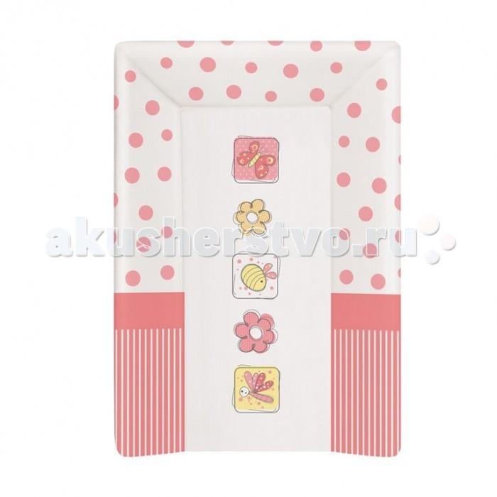 Накладки для пеленания Ceba Baby Накладка для пеленания мягкая с изголовьем 50х70 накладки для пеленания candide накладка для пеленания comfort 70х50