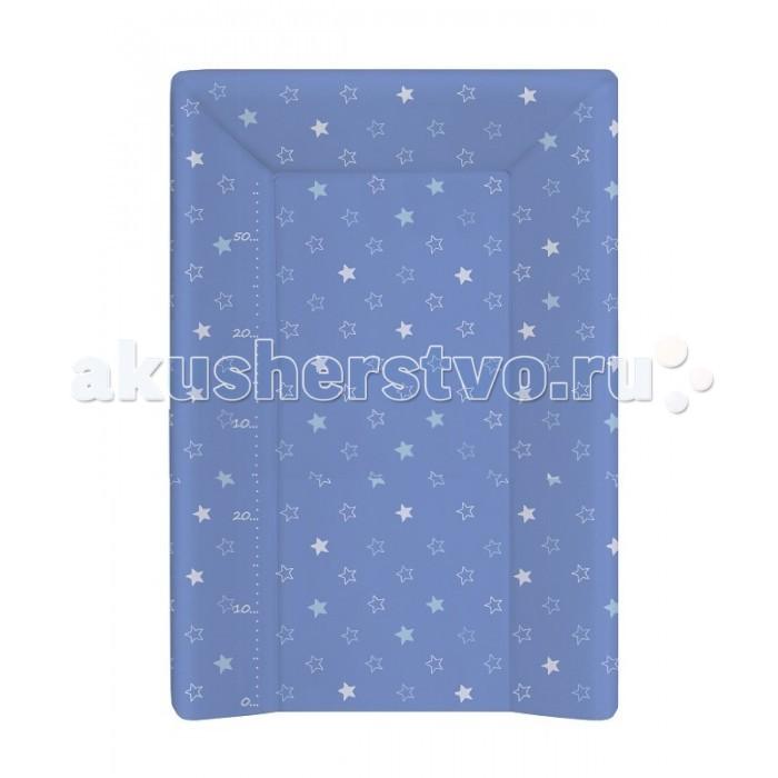 Накладки для пеленания Ceba Baby Накладка для пеленания на жестком основании с изголовьем 70х50 матраc пеленальный ceba baby 70 см мягкий с изголовьем fox ecru w 103 059 170