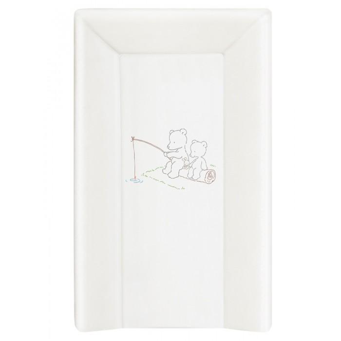 Накладки для пеленания, Ceba Baby Накладка для пеленания на жестком основании с изголовьем 70х50  - купить со скидкой