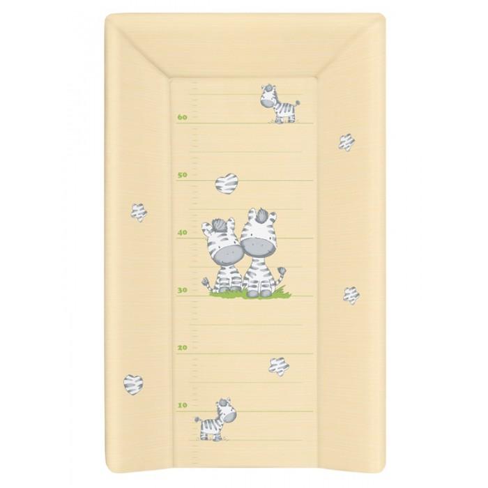 Накладки для пеленания Ceba Baby Накладка для пеленания на жестком основании с изголовьем 70х50 накладки для пеленания candide накладка для пеленания comfort 70х50