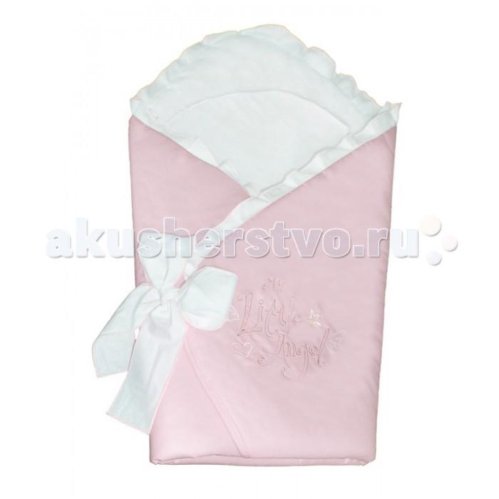Ceba Baby Одеяло-конверт AngelОдеяло-конверт AngelCeba Baby Одеяло-конверт Angel  Особенности: уютное и практичное одеяло-конверт для новорождённого;  удобная застёжка на липучке;  изготовлен из 100% хлопка, изнутри отделан мягким хлопковым трикотажем, дополнительно утеплён;  конверт украшен нарядной вышивкой;  размер одеяла в разложенном виде: 74х74 см.<br>