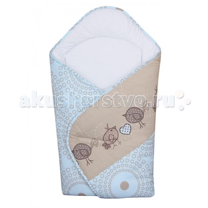 Конверты на выписку Ceba Baby Одеяло-конверт Birdies (принт) конверты на выписку ceba baby одеяло конверт baby papa bear вышивка