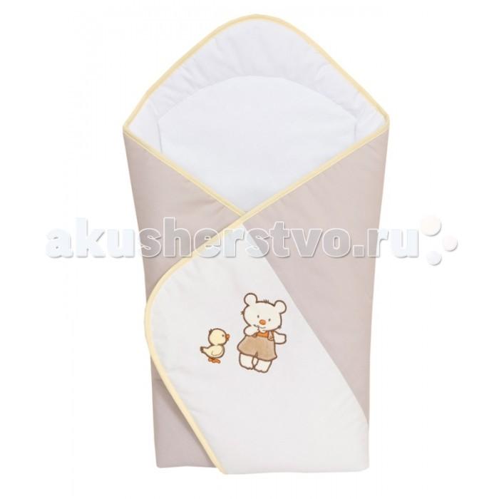 Конверты на выписку Ceba Baby Одеяло-конверт Ducklings (вышивка) конверты на выписку ceba baby одеяло конверт baby papa bear вышивка