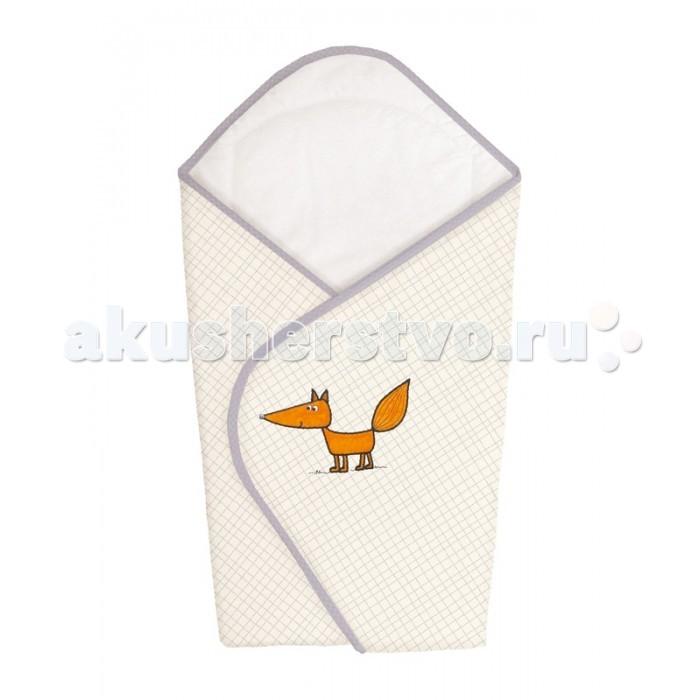 Ceba Baby Одеяло-конверт Fox (вышивка)Одеяло-конверт Fox (вышивка)Ceba Baby Одеяло-конверт Fox  Особенности: уютное и практичное одеяло-конверт для новорождённого;  удобная застёжка на липучке;  изготовлен из 100% хлопка, изнутри отделан мягким хлопковым трикотажем, дополнительно утеплён;  конверт украшен нарядной вышивкой;  размер одеяла в разложенном виде: 74х74 см.<br>