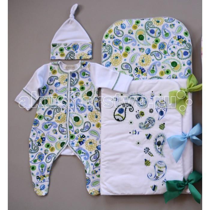 Детская одежда , Комплекты на выписку Chepe Веселые огурчики (3 предмета) арт: 485671 -  Комплекты на выписку