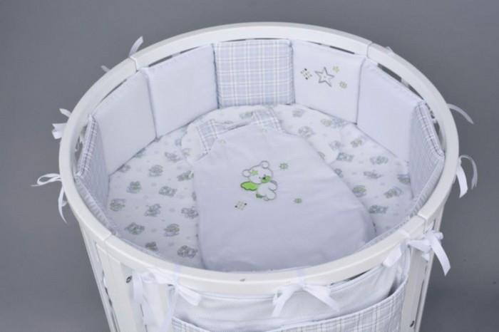 Комплект в кроватку Chepe Ловец снов (6 предметов)Ловец снов (6 предметов)Комплект в кроватку Chepe Ловец снов (6 предметов) предназначено для детей с рождения.  В комплекте 6 предметов:  бампер одеяло пододеяльник подушка-боб наволочка простыня овальная Материал изготовления: 100% хлопок, наполнитель - полиэфир. Размер спального места (ДхШ): 125 х 75 см<br>