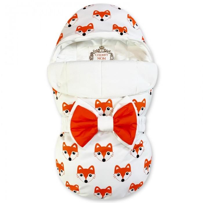 Фото - Конверты на выписку CherryMom Конверт на выписку Bambino Лисички (флис) одеяло конверт dolce bambino dolce blanket для новорожденных белый av71204