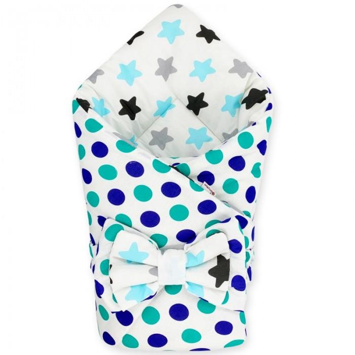 Фото - Конверты на выписку CherryMom Конверт-одеяло Аквамарин (весна-осень) cherrymom конверт одеяло cherrymom звезды на синем звезды на сером зима синий