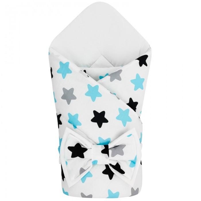 Конверты на выписку CherryMom Конверт-одеяло на выписку Звездочки (демисезон) cherrymom шлем cherrymom для защиты головы малыша candy розовый