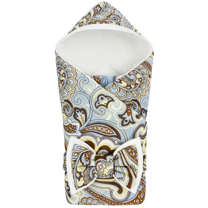 Купить Конверты на выписку, CherryMom Конверт-одеяло с капюшоном Цветочный орнамент (демисезон)