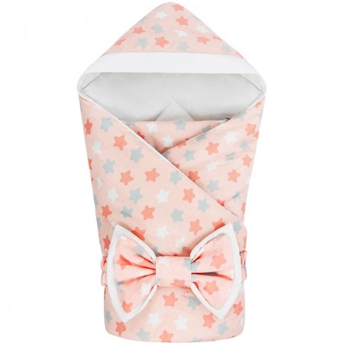 Конверты на выписку CherryMom Конверт-одеяло с капюшоном Микс Звезды (демисезон) cherrymom шлем cherrymom для защиты головы малыша candy розовый