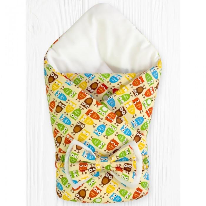 Конверты на выписку CherryMom Конверт-одеяло Совята (весна-осень) защита на прогулке cherrymom шлем для защиты головы млечный путь