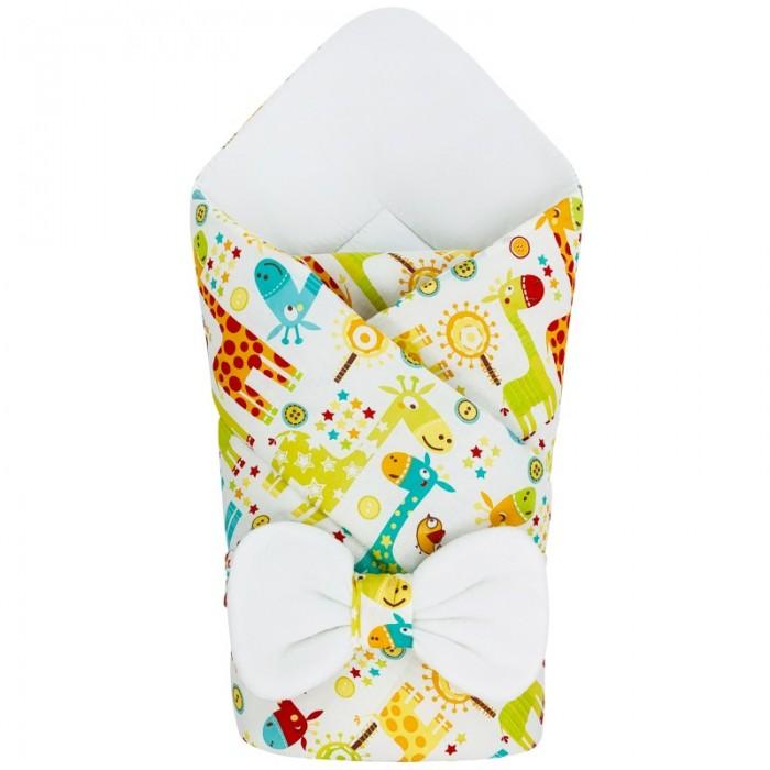 Конверты на выписку CherryMom Конверт-одеяло Жирафики (зима) конверты на выписку cherrymom конверт одеяло eco зима