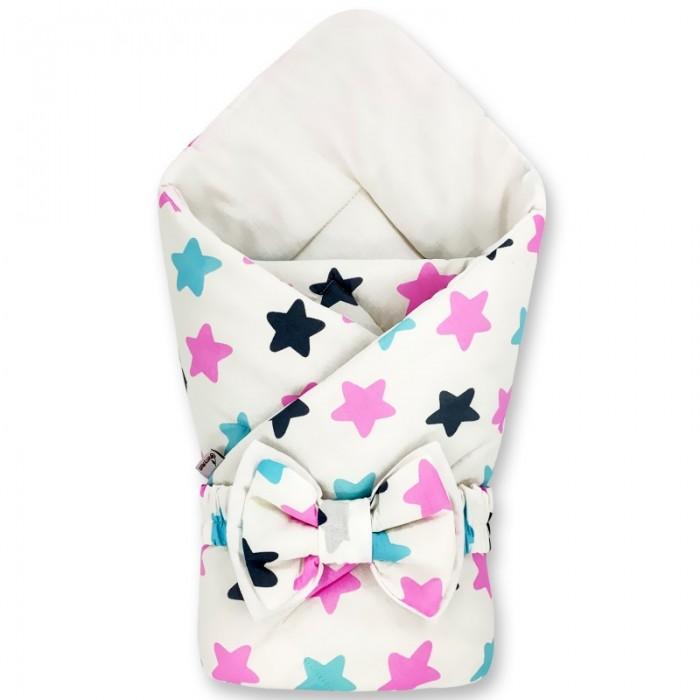 Конверты на выписку CherryMom Конверт-одеяло Звездочки (демисезон) cherrymom шлем cherrymom для защиты головы малыша candy розовый