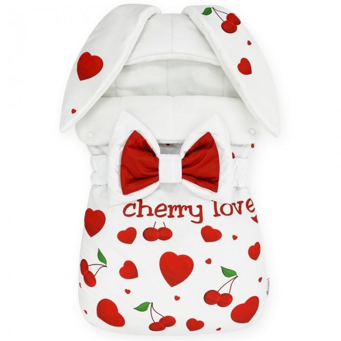 CherryMom Конверт Зайка Cherry Love (флис) фото