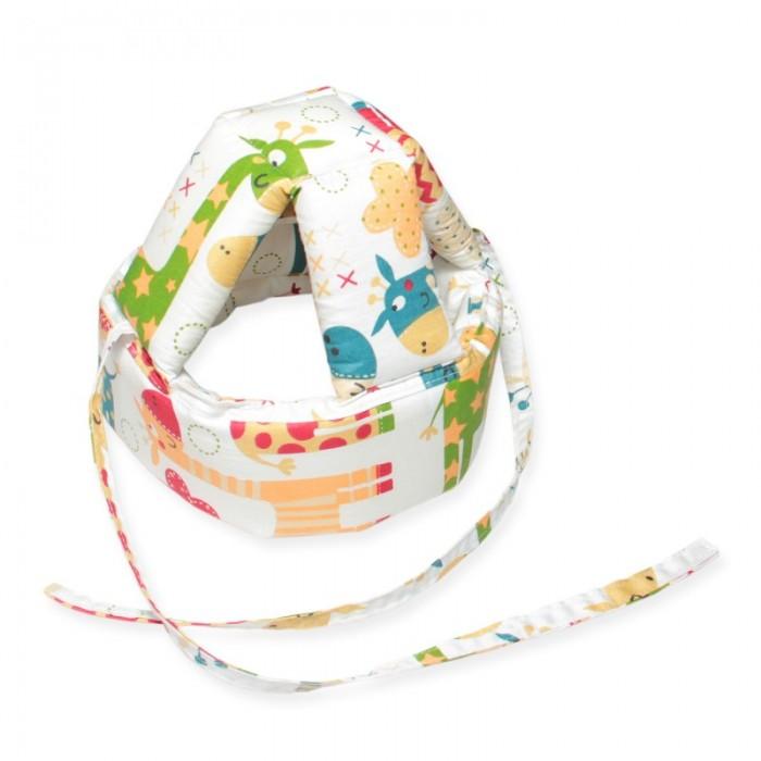 Купить Защита на прогулке, CherryMom Шлем для защиты головы малыша Жирафики