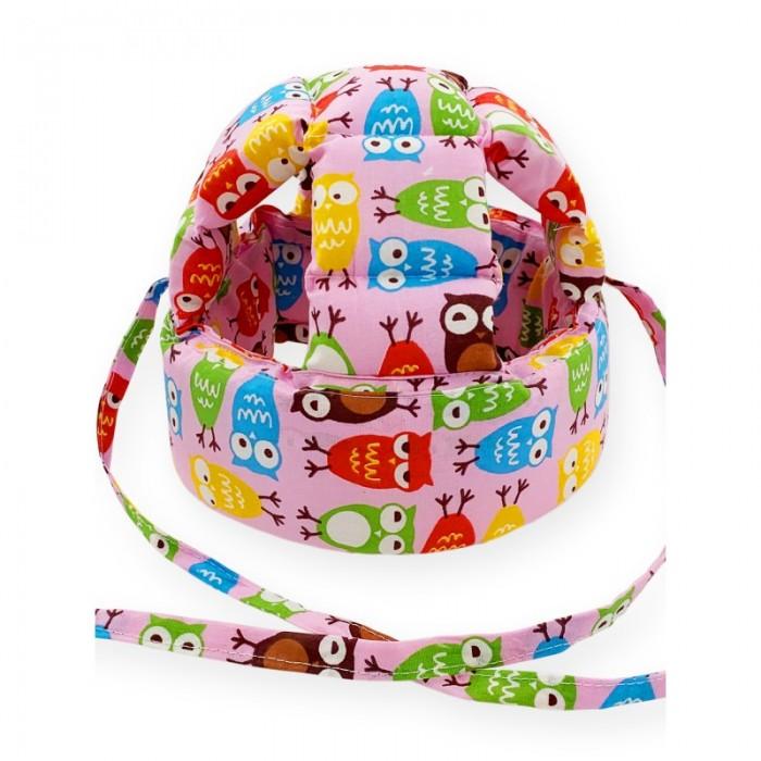 Купить Защита на прогулке, CherryMom Шлем для защиты головы Совушки