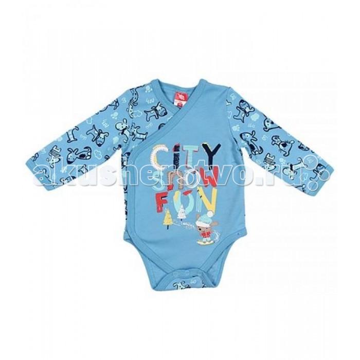 Боди и песочники Cherubino Боди ясельное для мальчика 129 cherubino свитер для мальчика