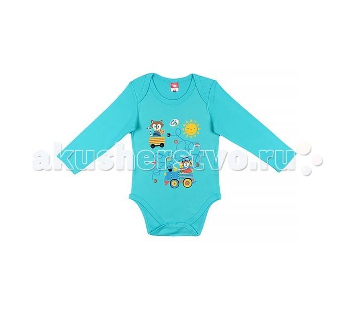 Боди и песочники Cherubino Боди ясельное для мальчика 130 cherubino свитер для мальчика