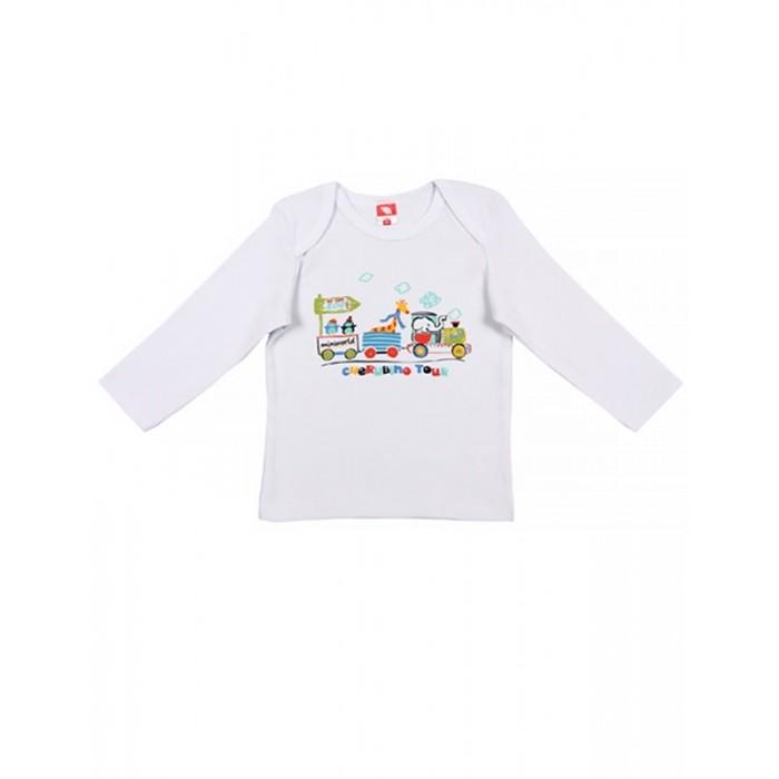 Блузки и рубашки Cherubino Рубашечка ясельная для мальчика 130 cherubino свитер для мальчика
