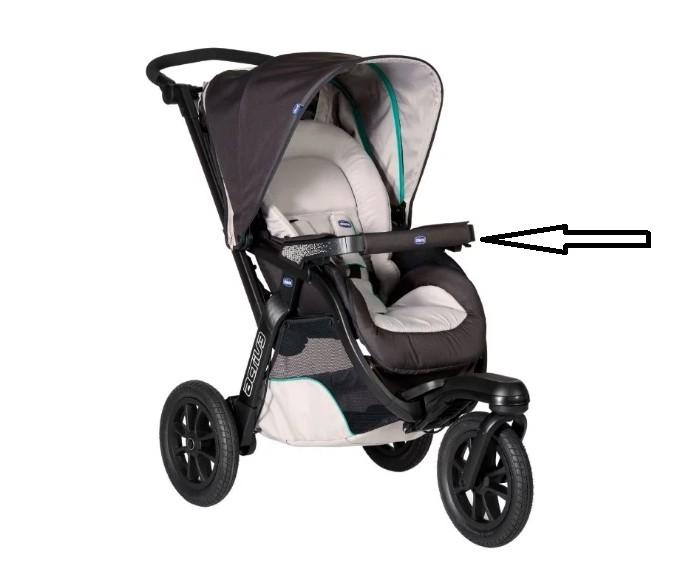 Аксессуары для колясок Chicco Бампер для коляски Activ3 (основа без ткани) недорого