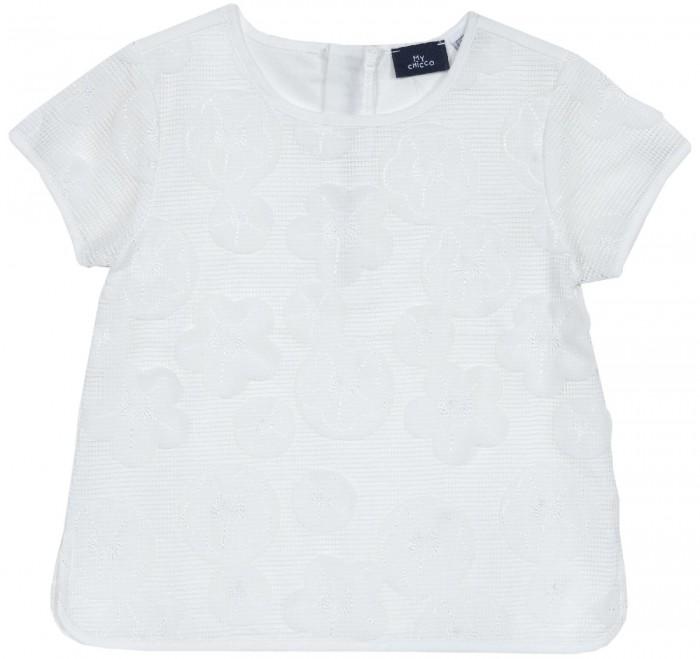 Блузки Chicco Блузка с коротким рукавом ажурная блузки lafei nier блузка page 9