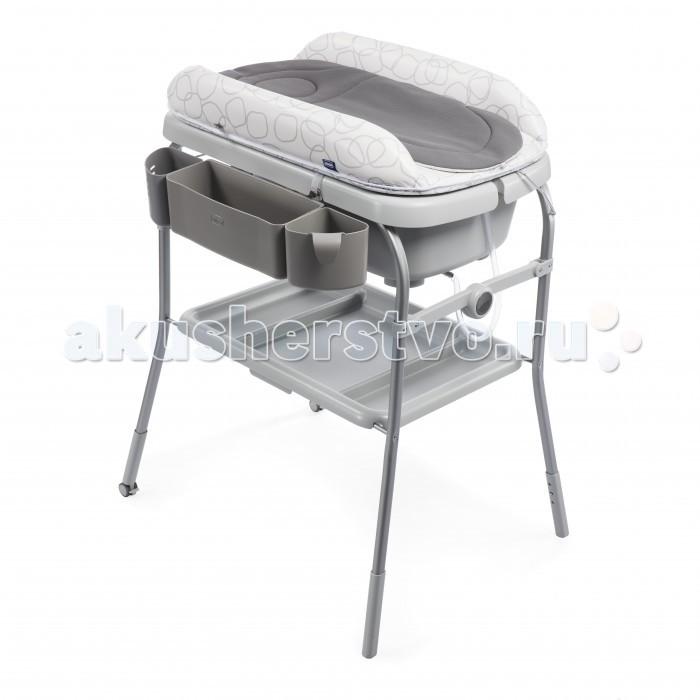 Детская мебель , Пеленальные столики Chicco Cuddle & Bubble Comfort с ванночкой арт: 493546 -  Пеленальные столики