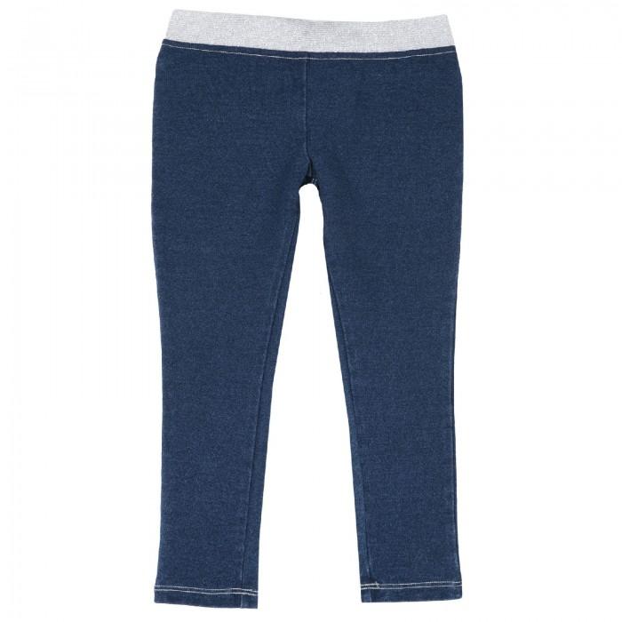Брюки и джинсы Chicco Джинсы для девочки на резинке