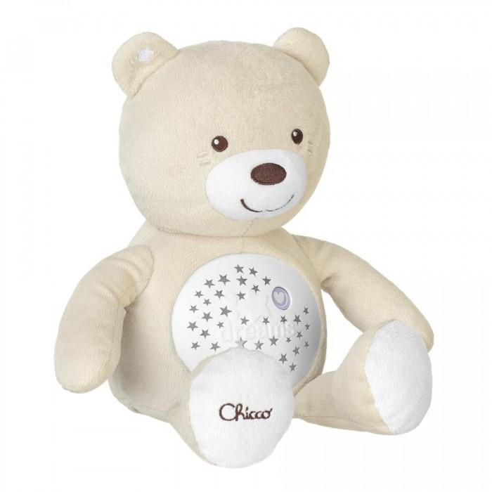 Chicco Игрушка-проектор набивная музыкальная Мишка 8015 фото