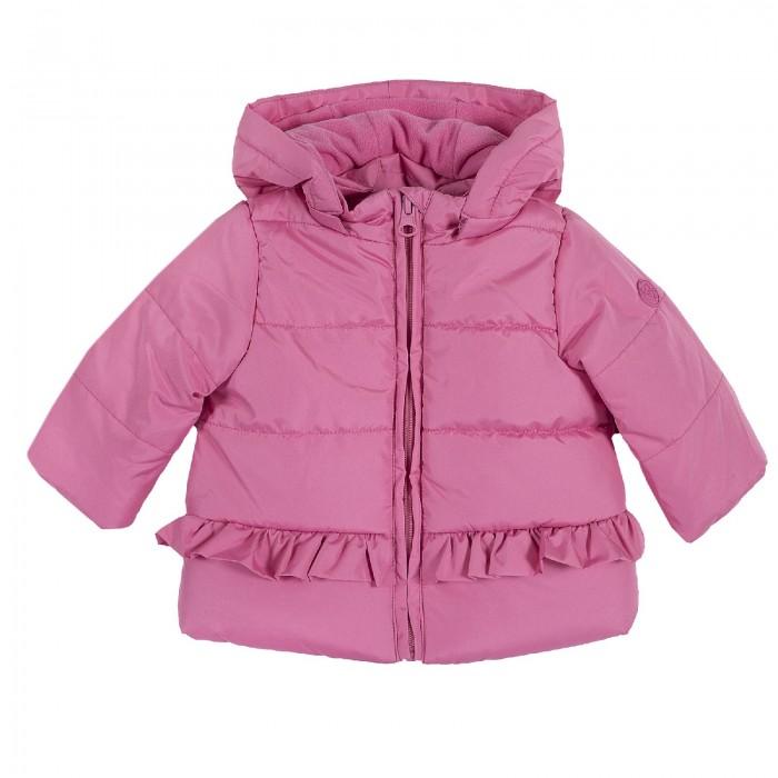 Chicco Куртка для девочек с рюшами - Акушерство.Ru
