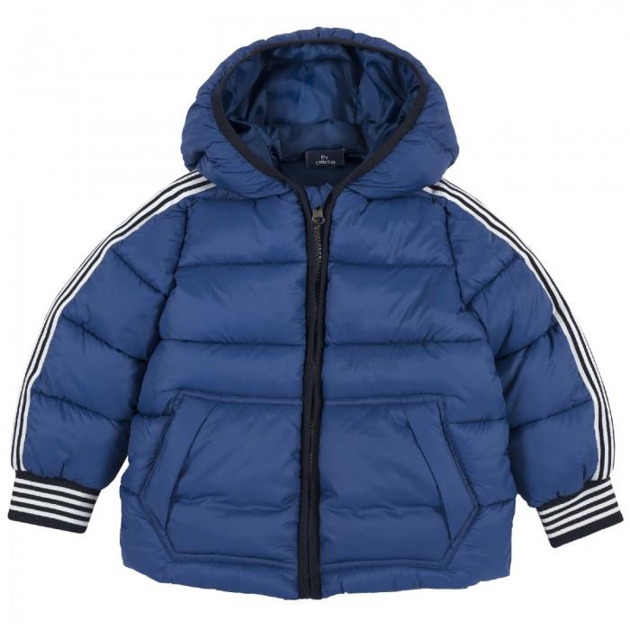 Купить Верхняя одежда, Chicco Куртка для мальчиков с белыми полосками