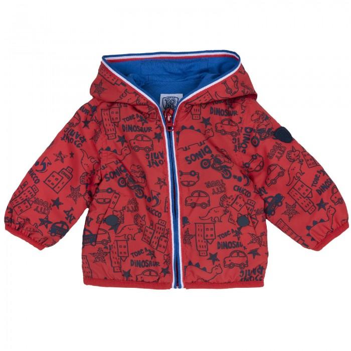 Купить Верхняя одежда, Chicco Куртка для мальчиков с машинками
