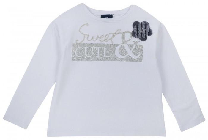 Водолазки и лонгсливы Chicco Лонгслив для девочки Sweet cute