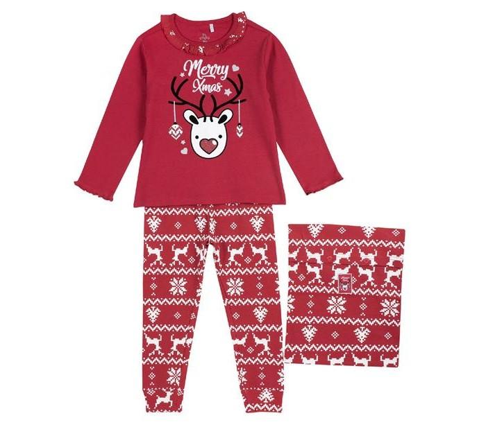 Домашняя одежда Chicco Пижама для девочек Merry Christmas 09031288