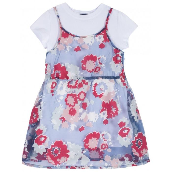 Платья и сарафаны Chicco Платье-сарафан Цветы